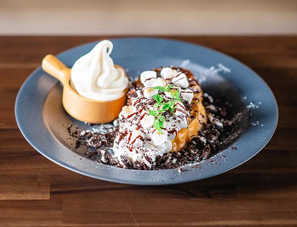 マシュマロクッキー&バニラフレンチトースト